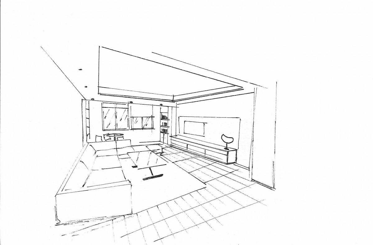 Renueve interiorismo renovaci n de nuevos espacios - Boceto interiorismo ...